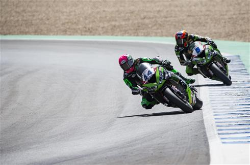 Mahias Scores Race Two Podium