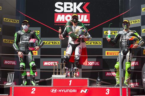 Two Podium Finishes For Kawasaki