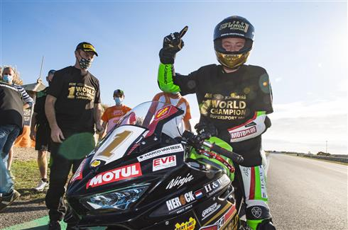 Buis The Champion For Kawasaki!