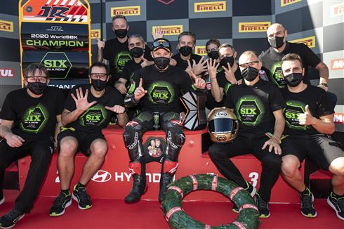 Rea Wins Sixth Straight WorldSBK Title!