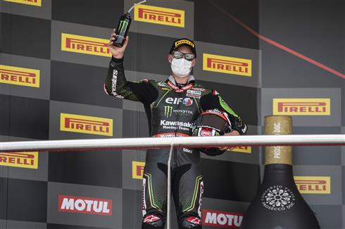 Rea Second In Hot Conditions