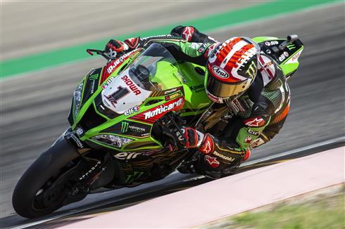 Rea Third Quickest On Day One