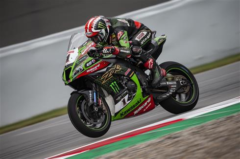 Rea Fifth And Fastest In The Wet