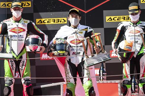 Ninja 400 Riders Dominate In Catalunya