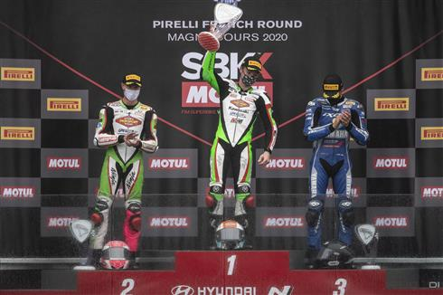Two Wins And Manufacturers' Title For Kawasaki