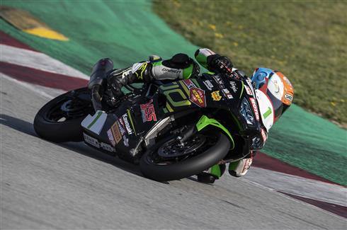 Kawasaki Supersport Riders Join Supported Test