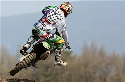 Top ten motos for Jed Beaton and Adam Sterry in Italy