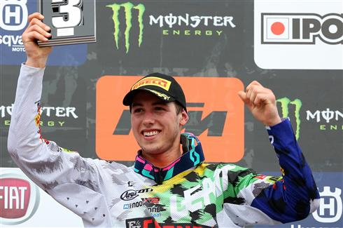 Podium for Jed Beaton in Portugal