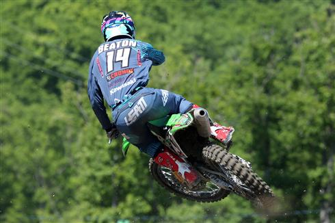 Jed Beaton consolidates fifth in the MX2 standings