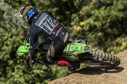 Heavy crash costs Mathys Boisrame second place in Italy