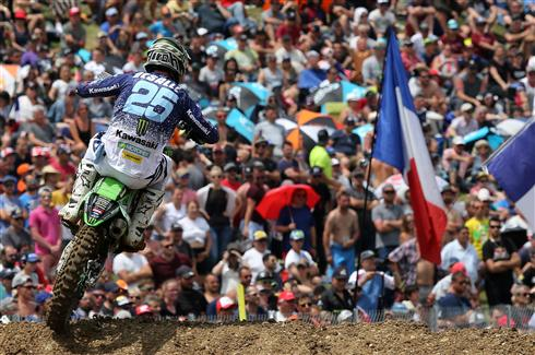 Second for Clément Desalle in France
