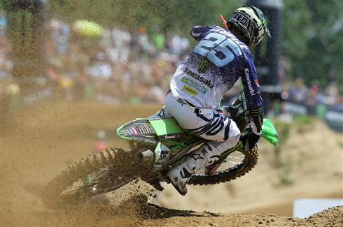Clement Desalle third qualifier in Italy