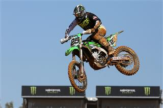 Clément Desalle goes second in MXGP