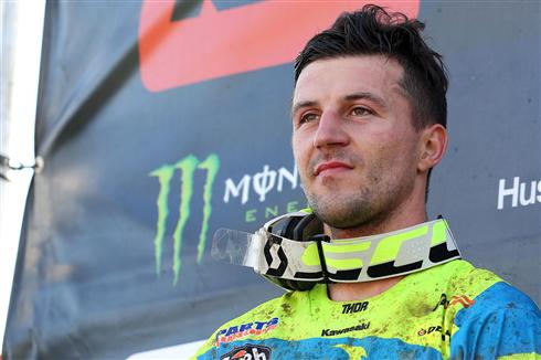 Clement Desalle second in Czech Republic