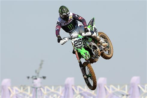 Third podium in a row for Clement Desalle
