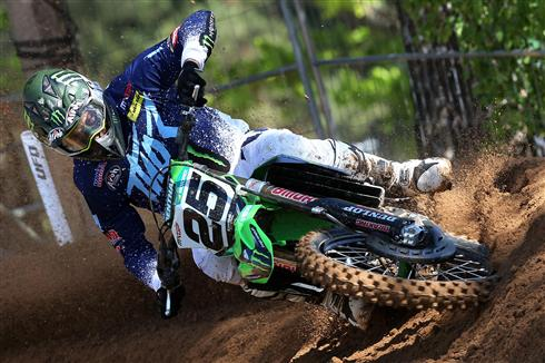 Clement Desalle second in Latvian qualifying