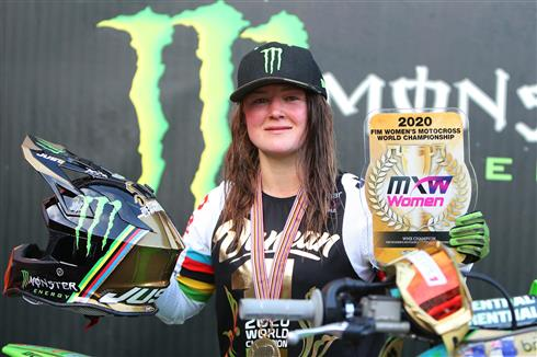 Courtney Duncan and DRT Kawasaki retain the WMX world title