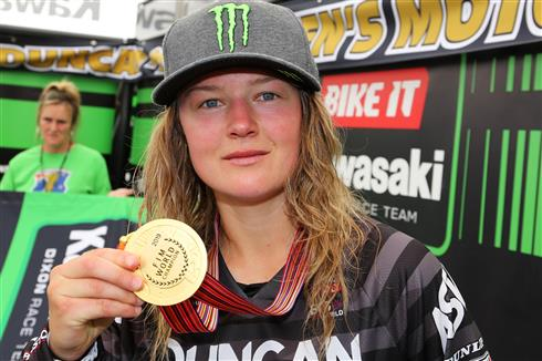 Courtney Duncan and Kawasaki add the Manufacturers' World title