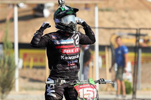 Courtney Duncan is World Champion with Kawasaki