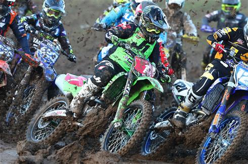 Victorious start for Courtney Duncan and DRT Kawasaki