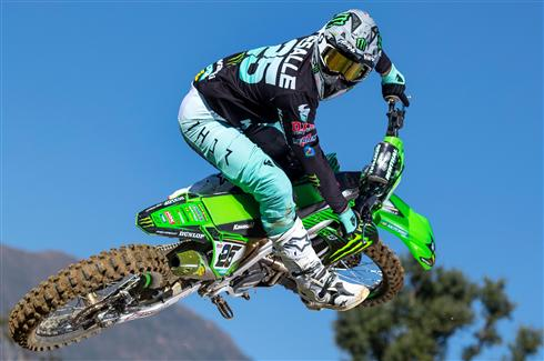 Kawasaki ready for the opening round of the MXGP season