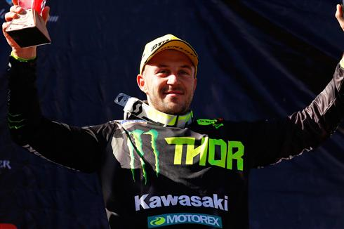 Podium for Clément Desalle in Argentina