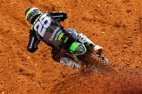 Third place moto for Clement Desalle in Portugal