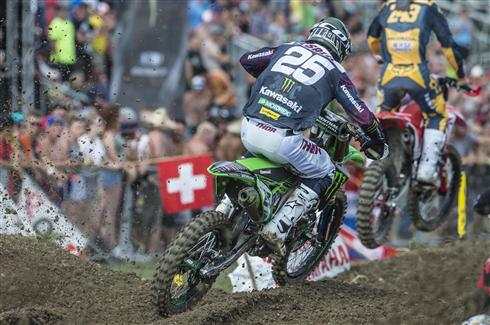 Clement Desalle third in Swiss qualification