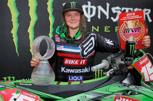 A perfect weekend for Courtney Duncan and the 2020 KX250