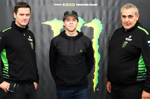 Monster Energy Kawasaki Racing Team welcomes Romain Febvre