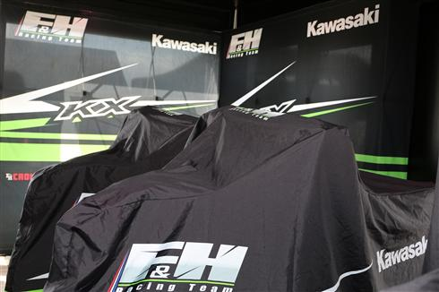 Kawasaki with F&H Racing in 2019