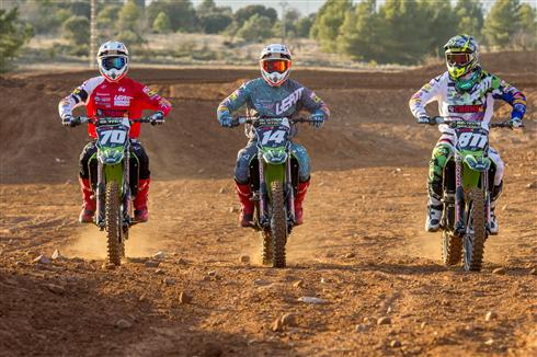 F&H Kawasaki joins the MX2 World Championship