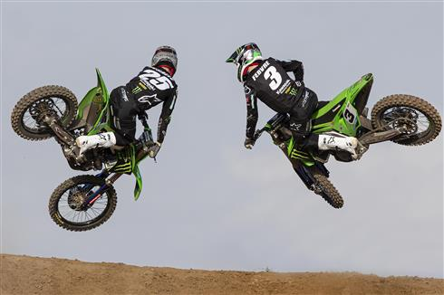 Kawasaki teams ready for the season MXGP opener