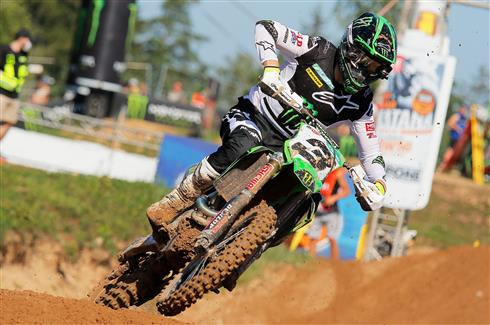 Romain Febvre fifth in Latvia