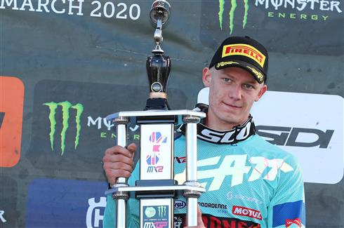 Debut podium for Mikkel Haarup