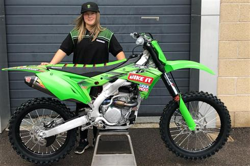 Courtney Duncan joins Kawasaki