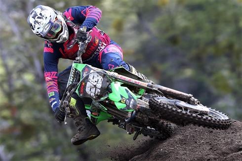 Henry Jacobi joint third in MX2