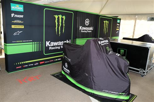 Team Monster KRT out of the final MXGP round
