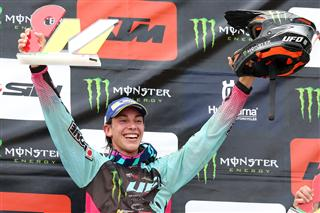Morgan Lesiardo wins at home in Italy