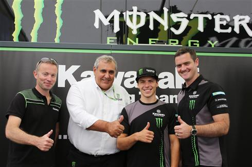 Julien Lieber continues into 2019 with Monster KRT
