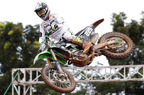 Brian Moreau qualifies ninth in Indonesia