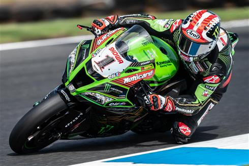 Rea And Lowes Get Race Ready At Phillip Island