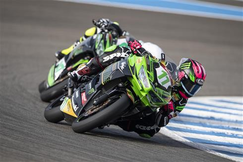 Kawasaki's WorldSSP300 Riders Gather In Spain