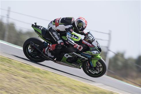 Rea Fastest On Friday in Portugal