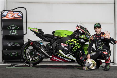 Rea Five Times Champion After Race Two Win