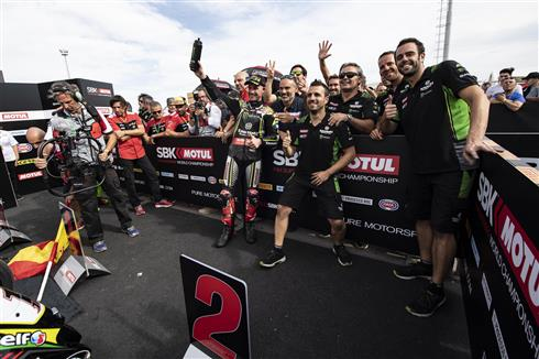 Rea Second And Haslam Sixth In Argentina
