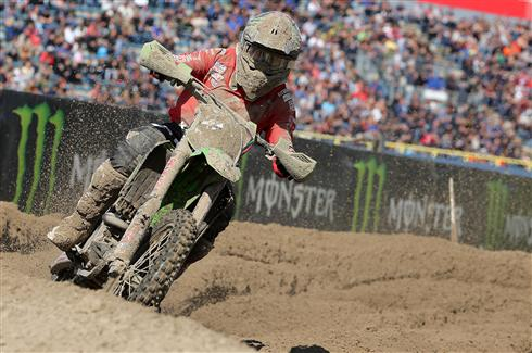 A difficult day in MX2
