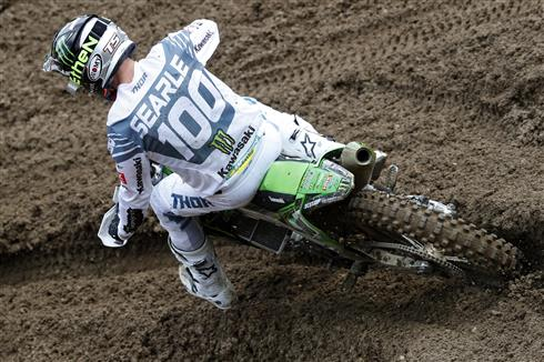 Tommy Searle qualifies sixth on his KRT debut