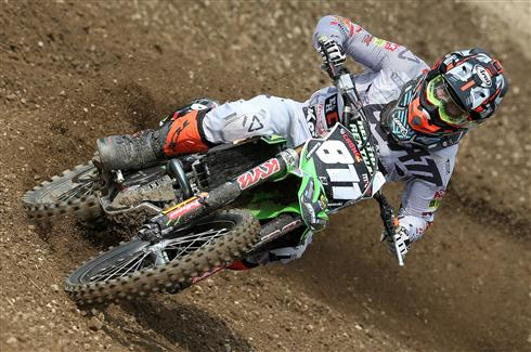 Crashes cost Adam Sterry at Loket