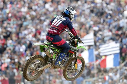 Adam Sterry fifth in France